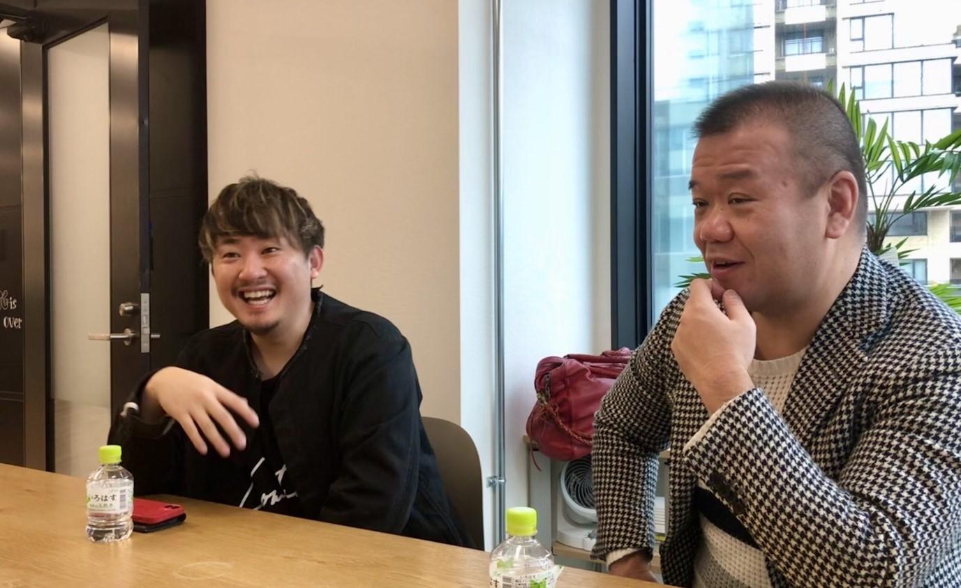株式会社GOOD VIBES ONLY 代表取締役社長CEOの野田 貴司 氏とシェアリングCFOの室木 達哉 氏