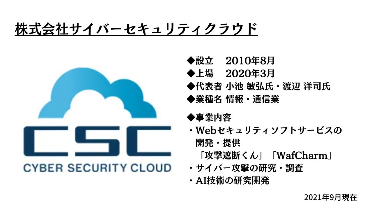 サイバーセキュリティクラウドのロゴ