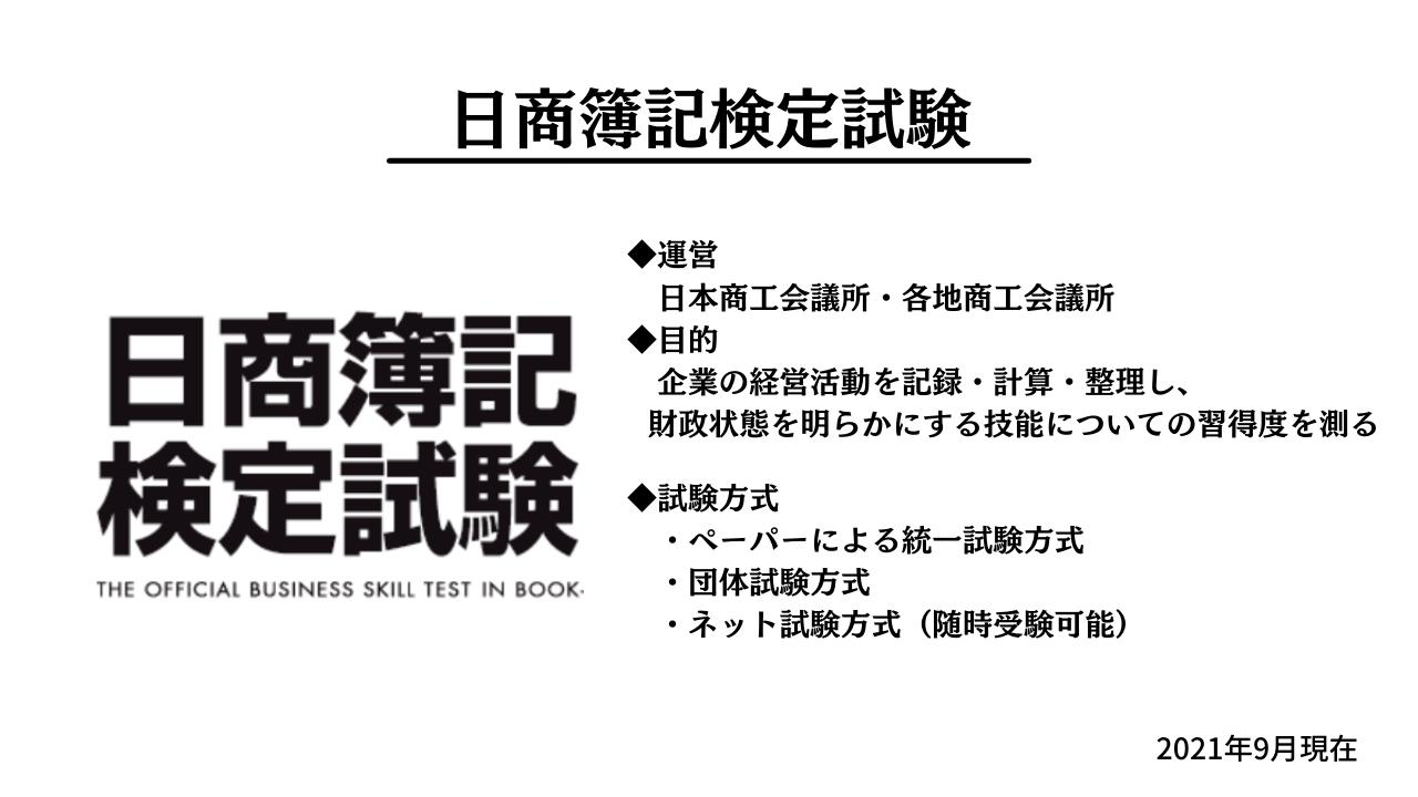 日商簿記検定試験